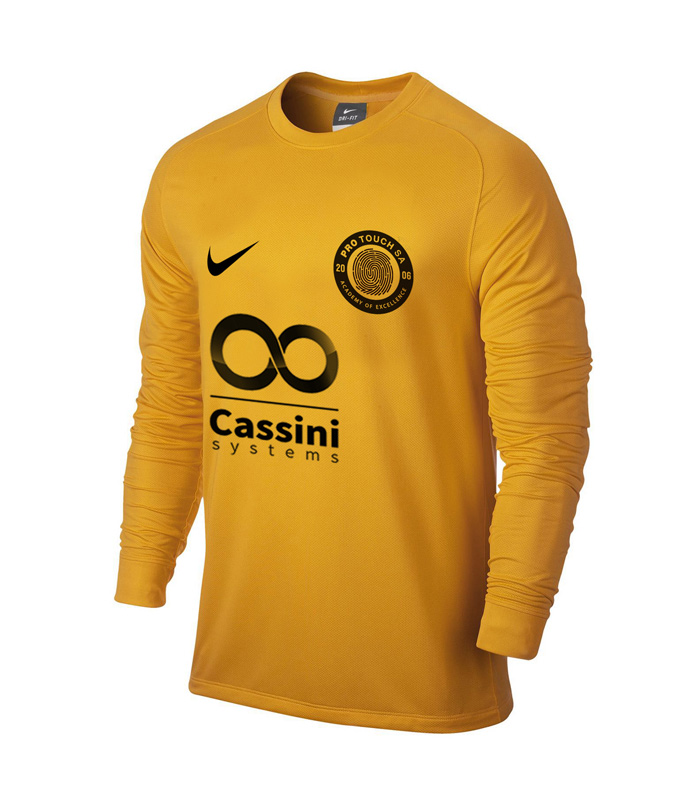Yellow Keepers Match Shirt